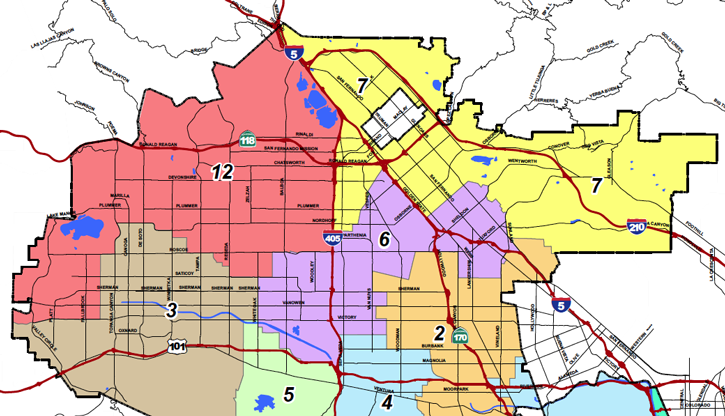 north valley los angeles neighborhood information
