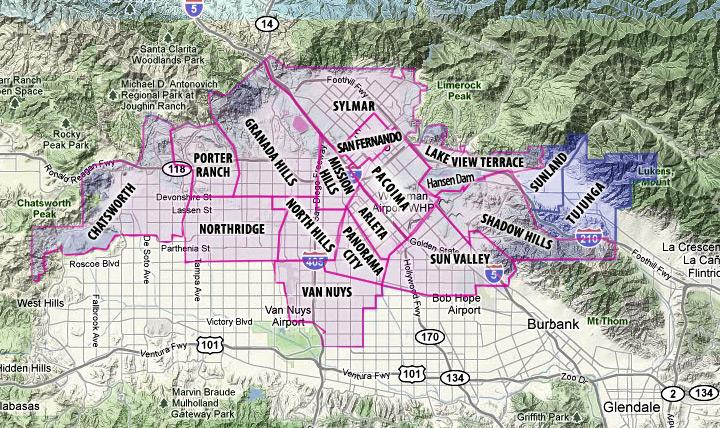 North Valley Los Angeles Neighborhood Information on